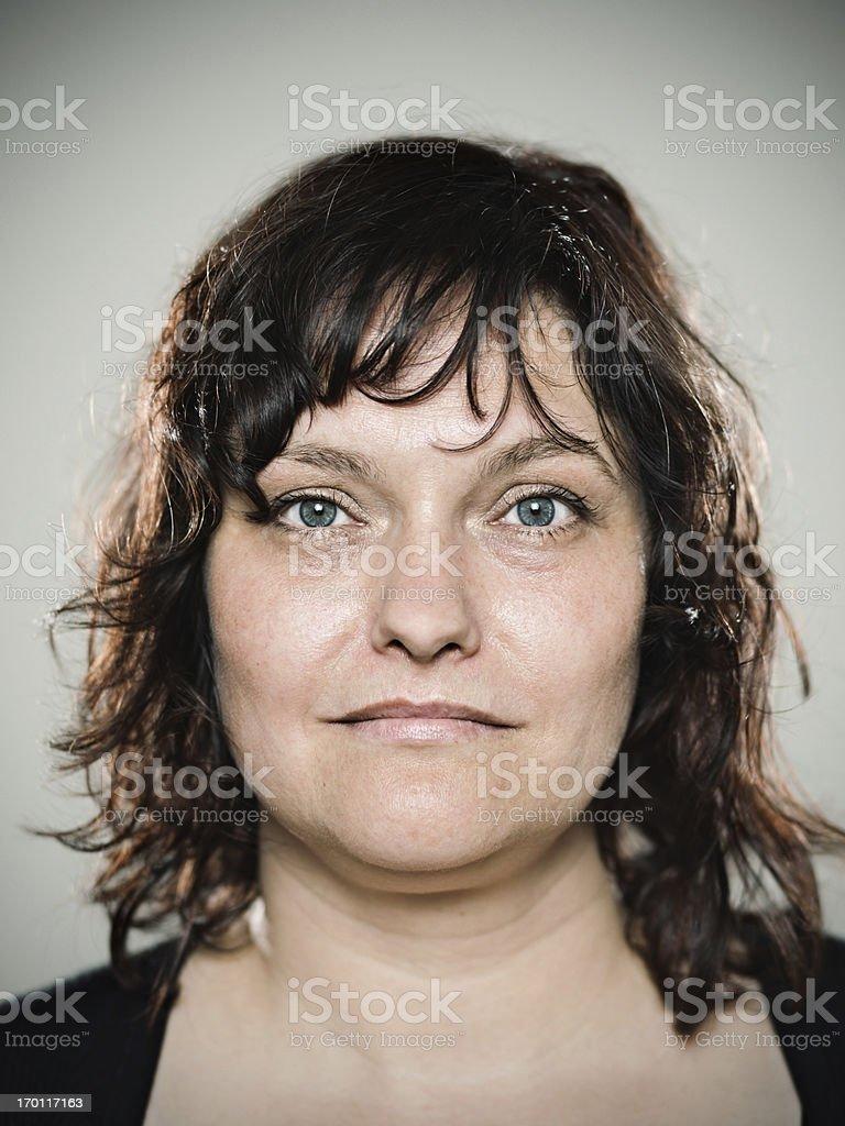 Real woman stock photo