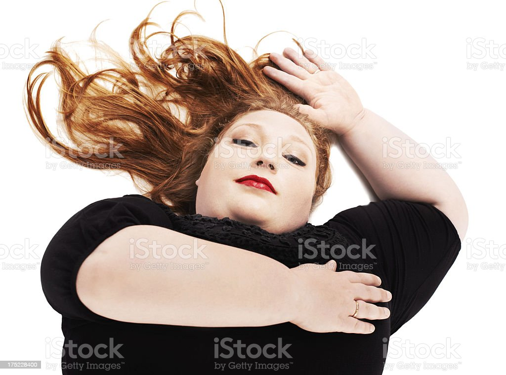 Real women have curves royalty-free stock photo