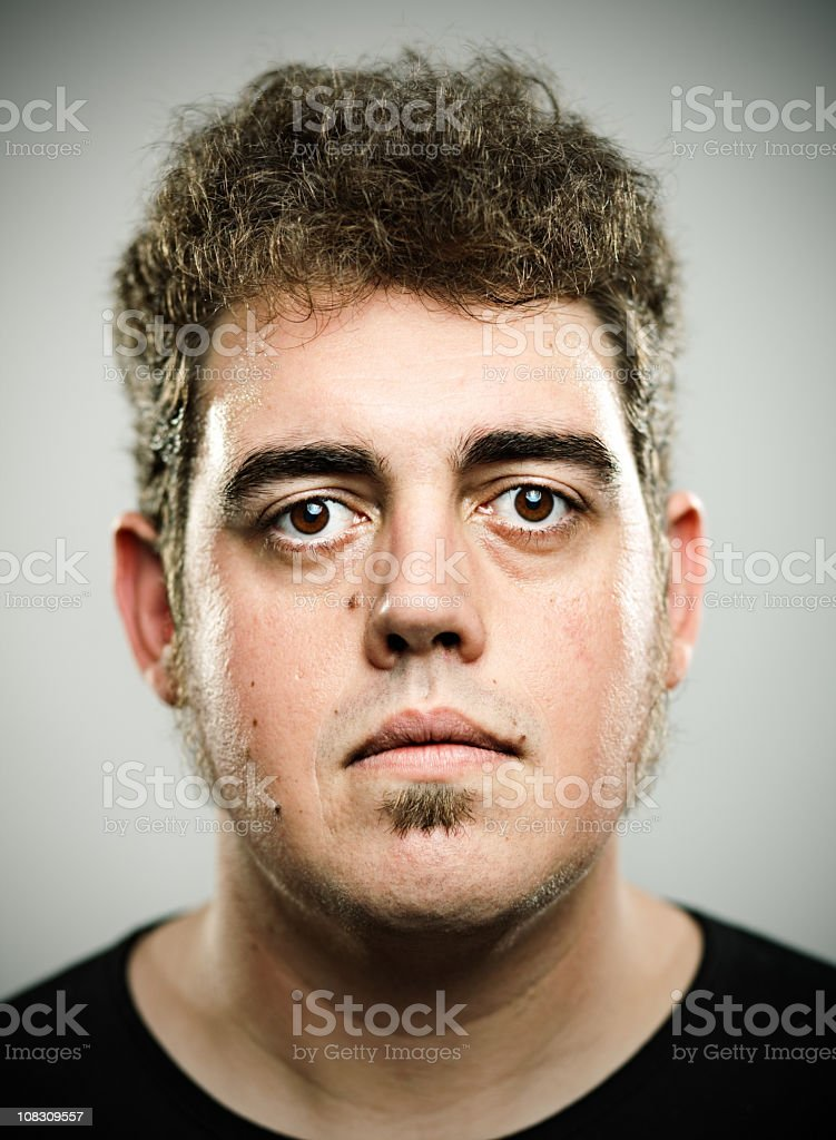 Real young man royalty-free stock photo