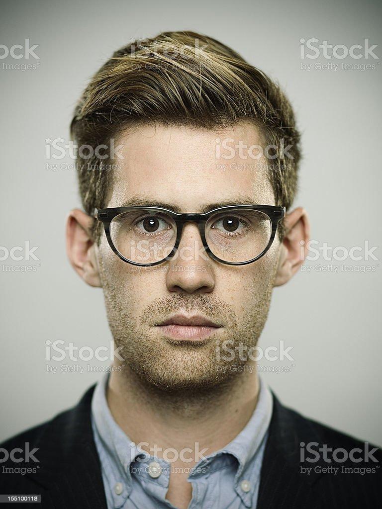 Real young man. royalty-free stock photo