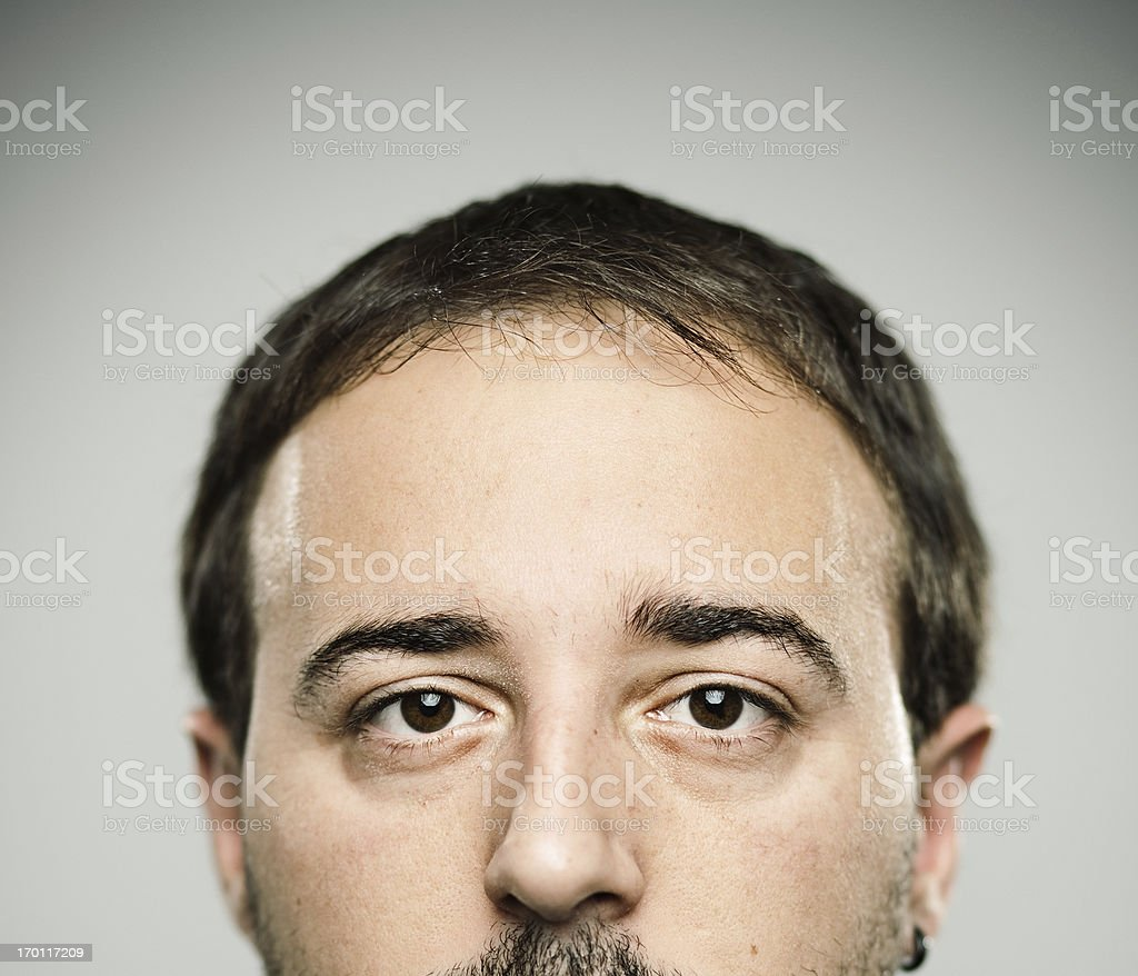 Real young man royalty-free stock photo