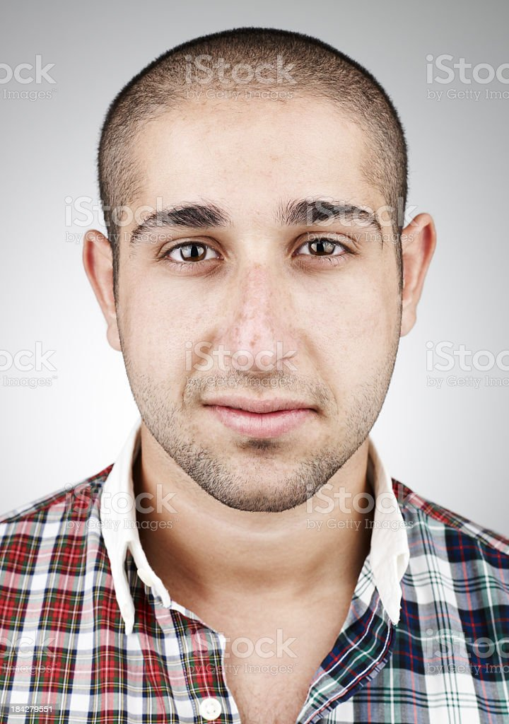 Real Young Man stock photo