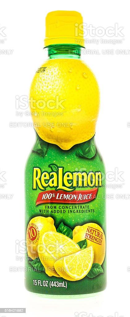 ReaLemon stock photo