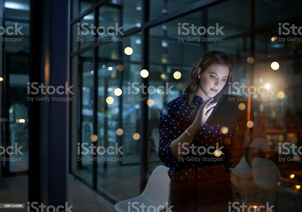 Realising so much online stock photo