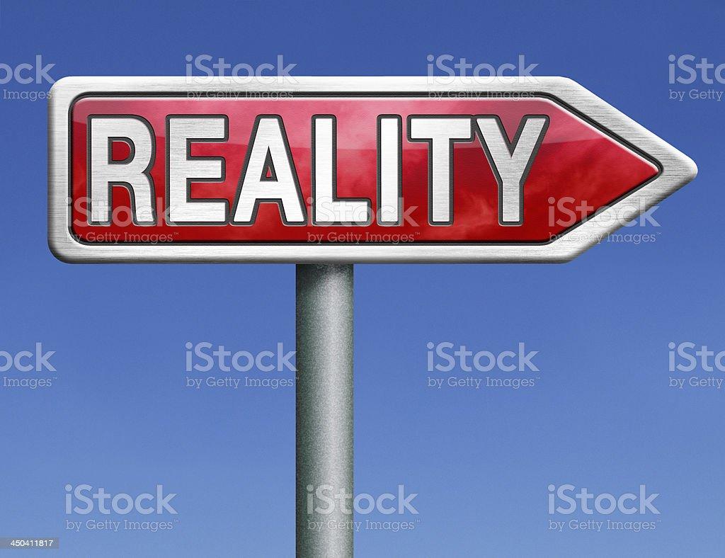reality royalty-free stock photo