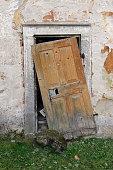 Really broken door