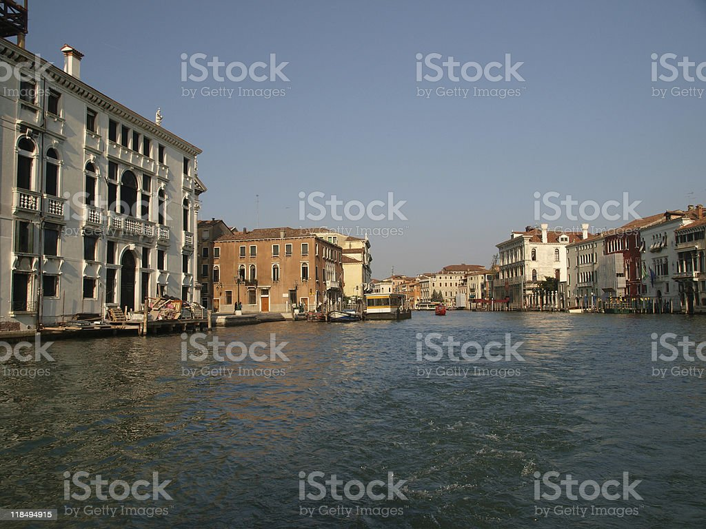 Really, it is great Canal Grande - Venice italy royalty-free stock photo