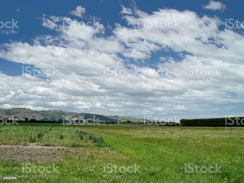 really wide open space royalty-free stock photo