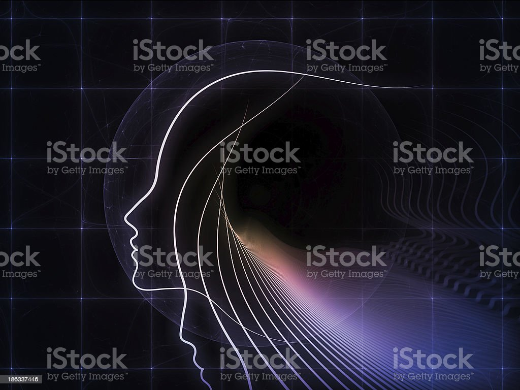Realms of Soul Geometry royalty-free stock photo