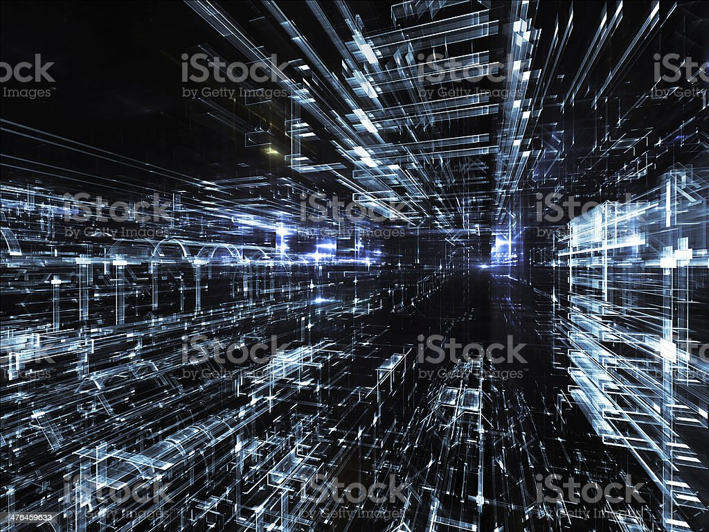 Realms of Urban Abstraction royalty-free stock photo