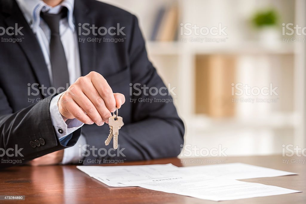Realtor stock photo