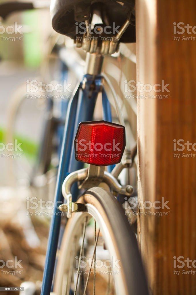 Rear Bike Reflector 2 stock photo