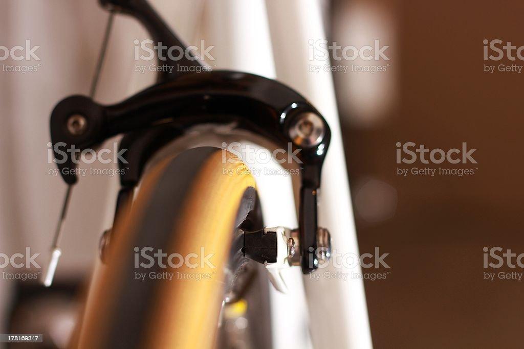 Hinterradbremse Schieblehre. Lizenzfreies stock-foto