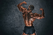 Rear Double Biceps Pose