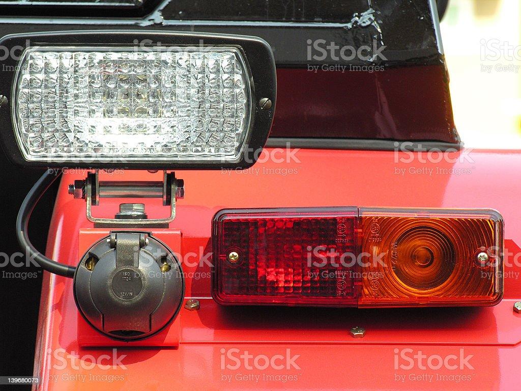 Rear lamp royalty-free stock photo