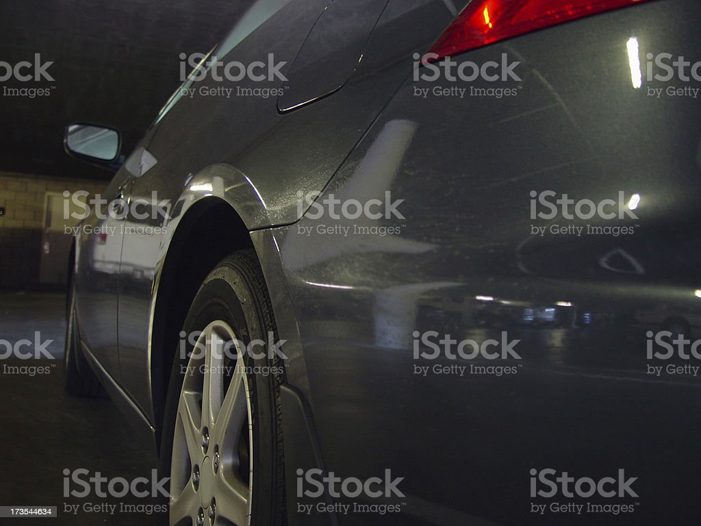 Rear side royalty-free stock photo