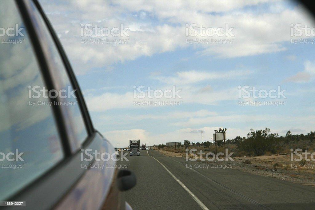 rear view mirror royalty-free stock photo