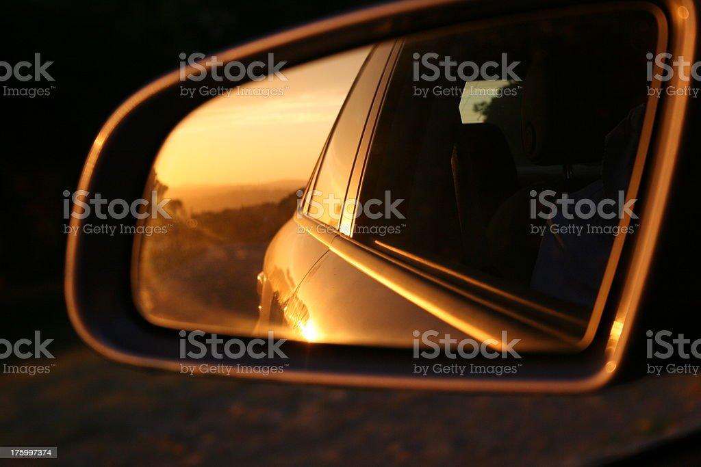 Rear View stock photo