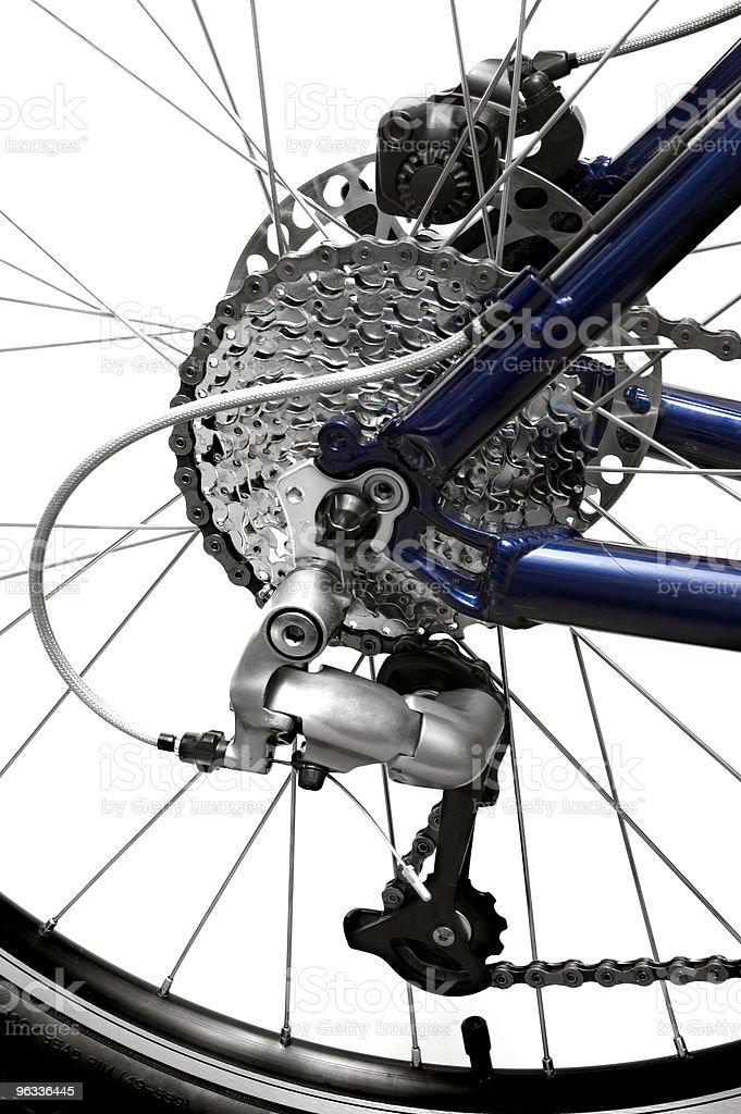 MTB Rear Wheel royalty-free stock photo