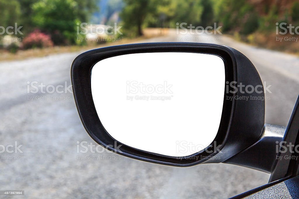 Rearview Mirror stock photo