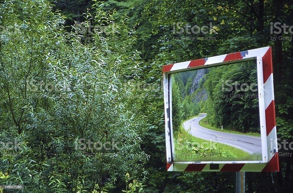Rear-View royalty-free stock photo