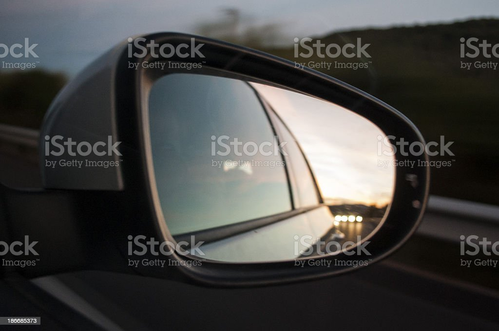 Rearview royalty-free stock photo