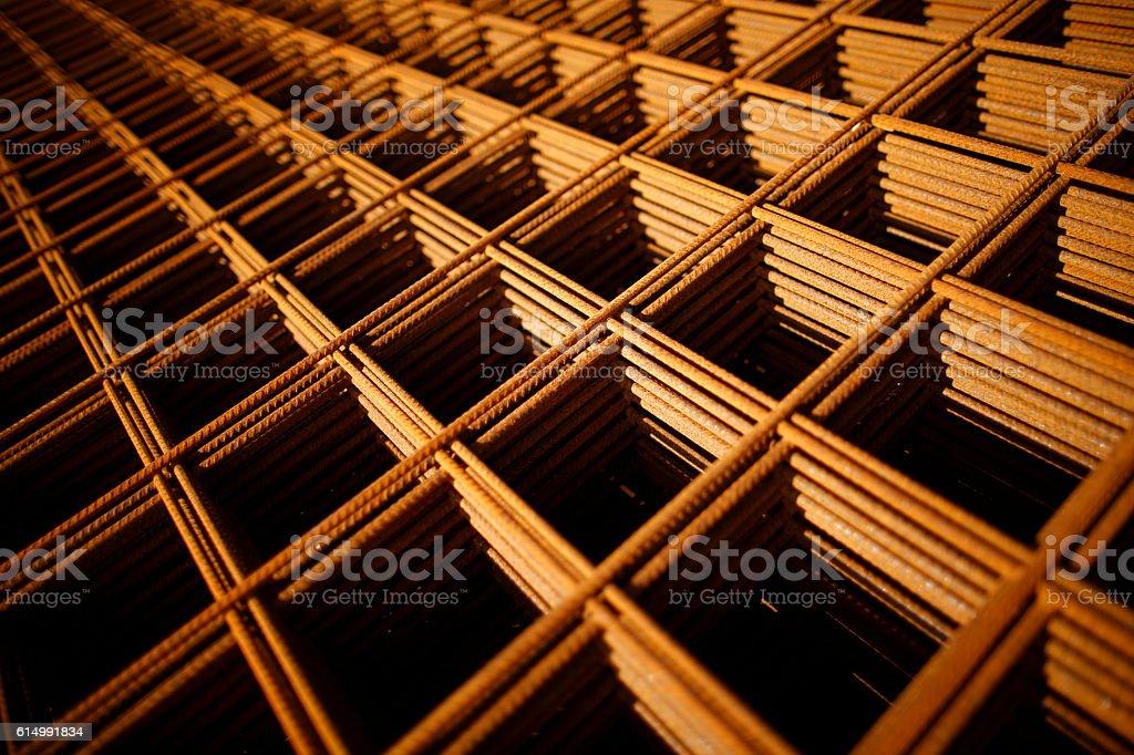 Rebar stock photo