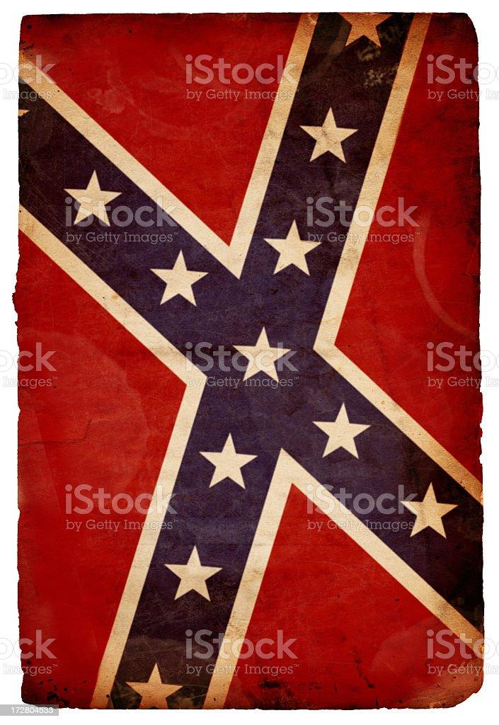 Rebel Flag XXXL royalty-free stock photo