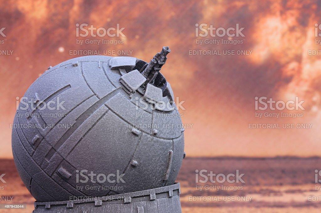 Rebel Guns stock photo