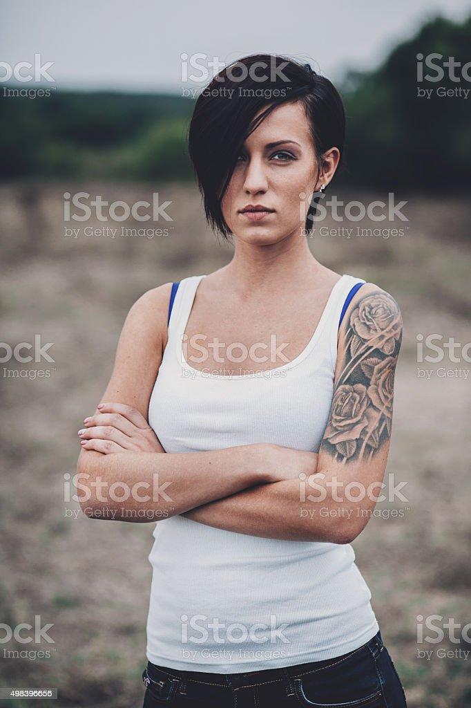 Rebel stock photo