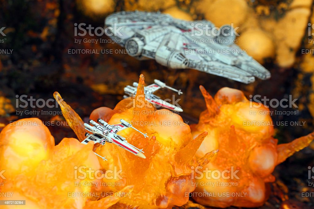 Rebel Squadron stock photo
