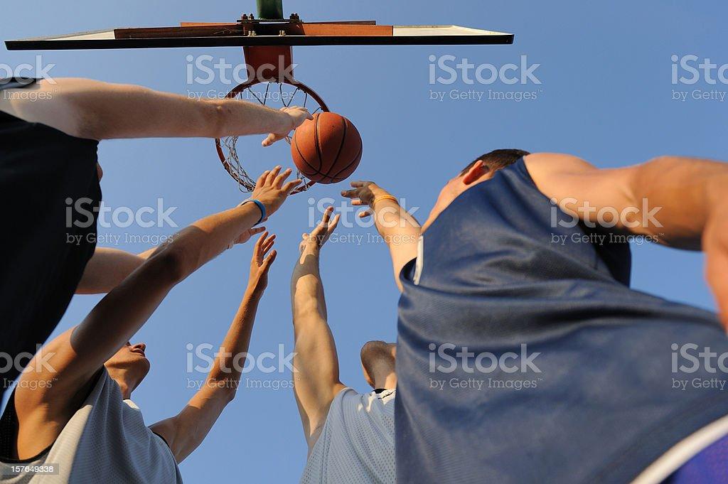 Rebound stock photo