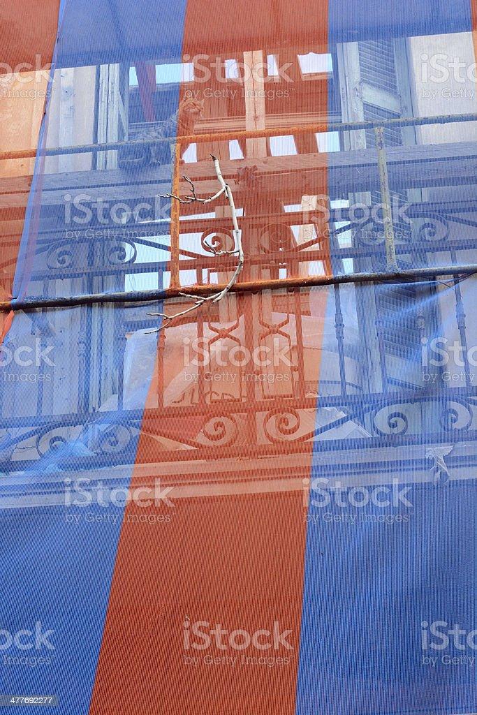 Rebuilding Stripes royalty-free stock photo