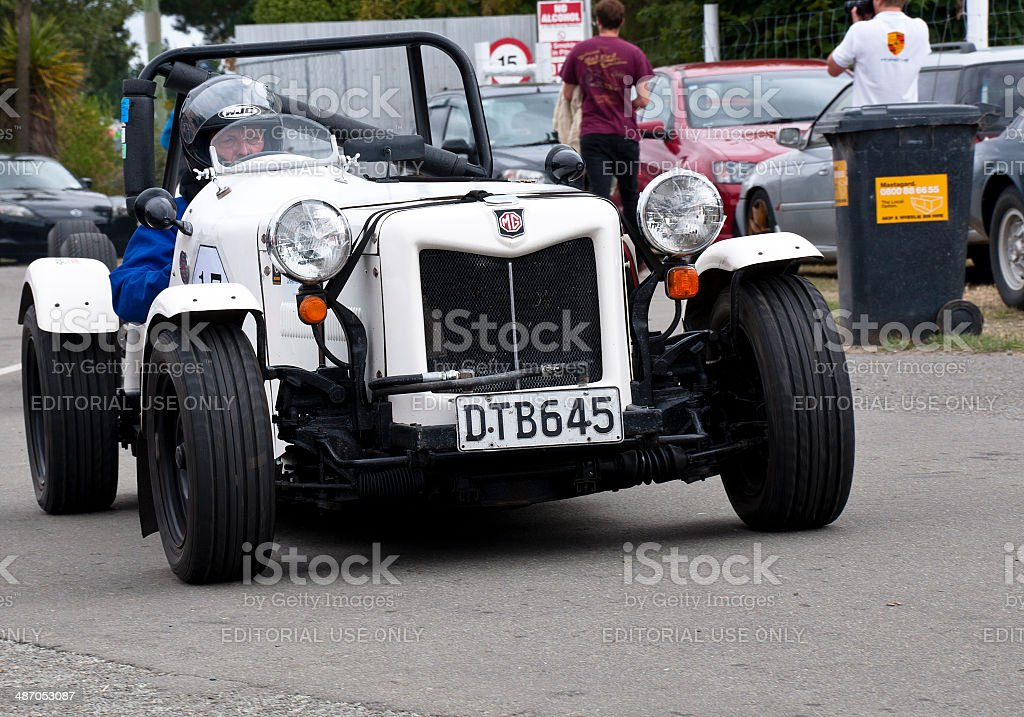 MG Rebuilt Special from 1986 royalty-free stock photo