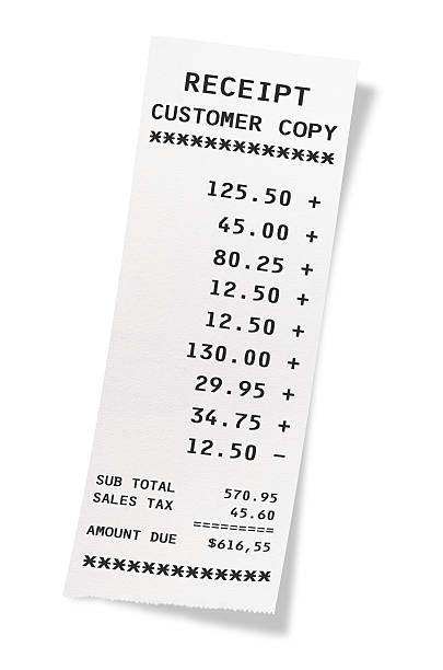 Receipt Pictures Images and Photos iStock – Receipt