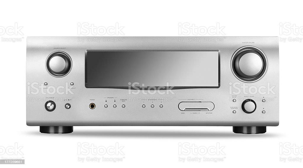 AV receiver stock photo