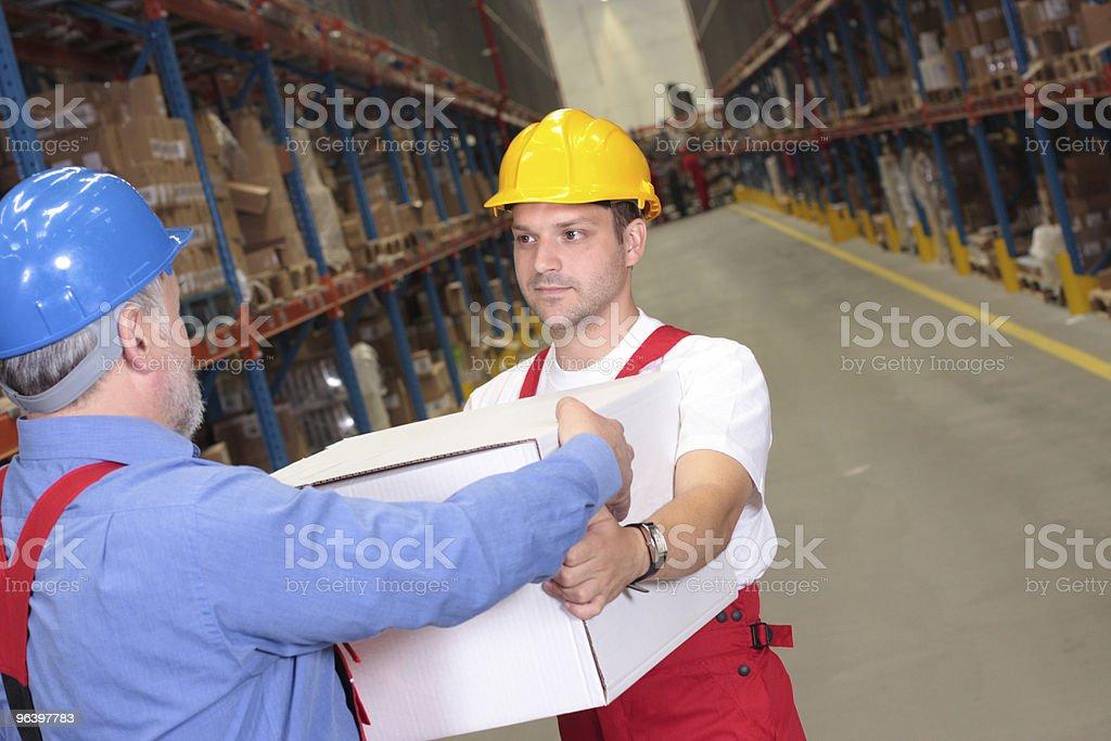 receiving box royalty-free stock photo