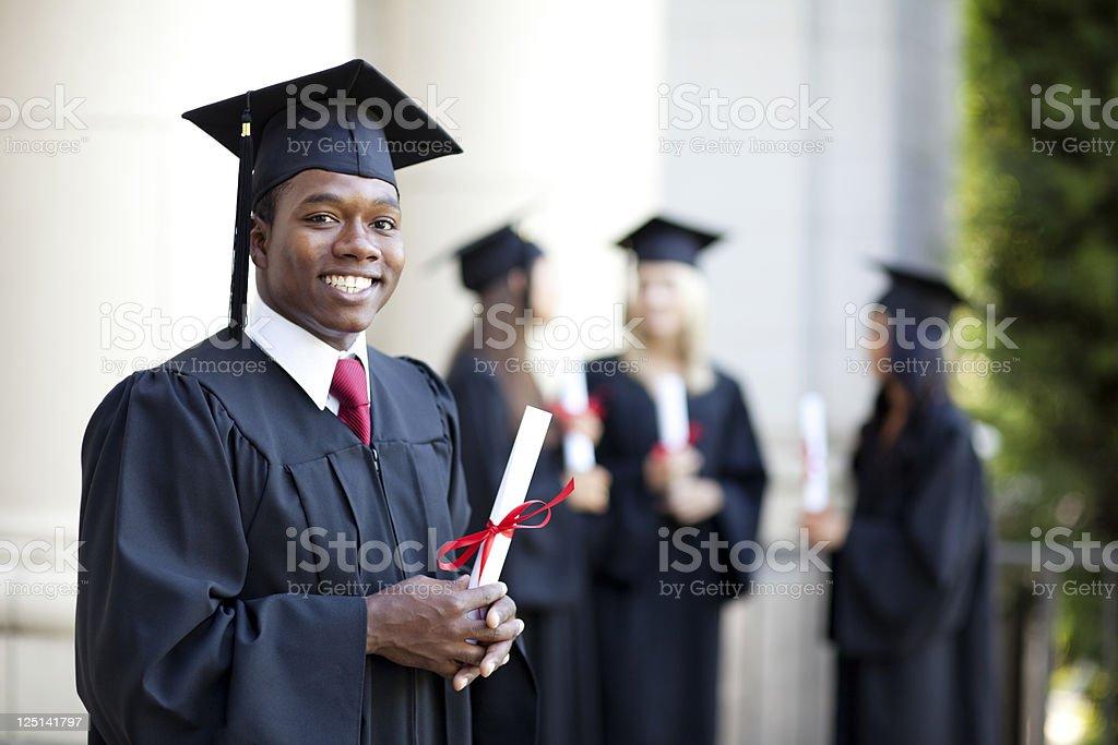 Recent College Graduate stock photo