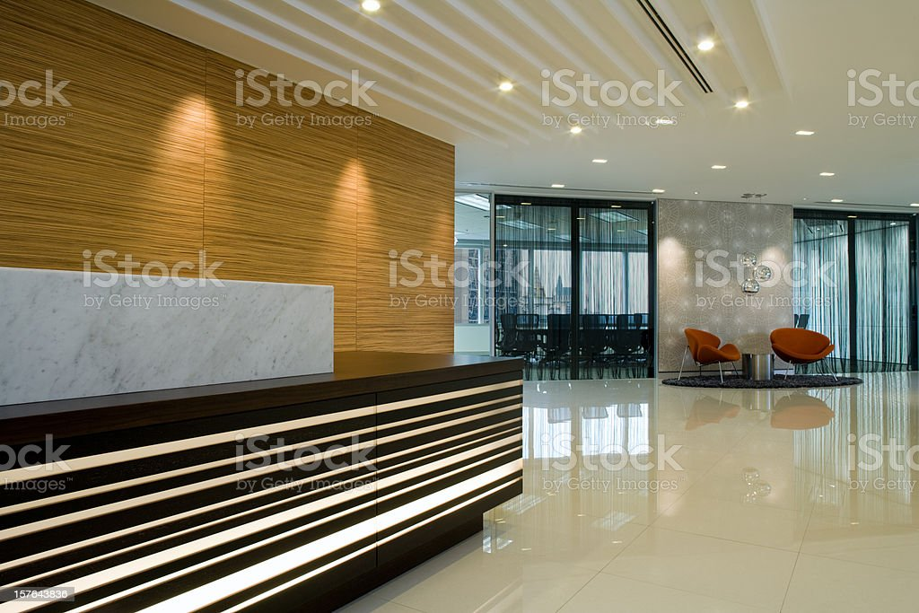 Reception And Waiting Area royalty-free stock photo