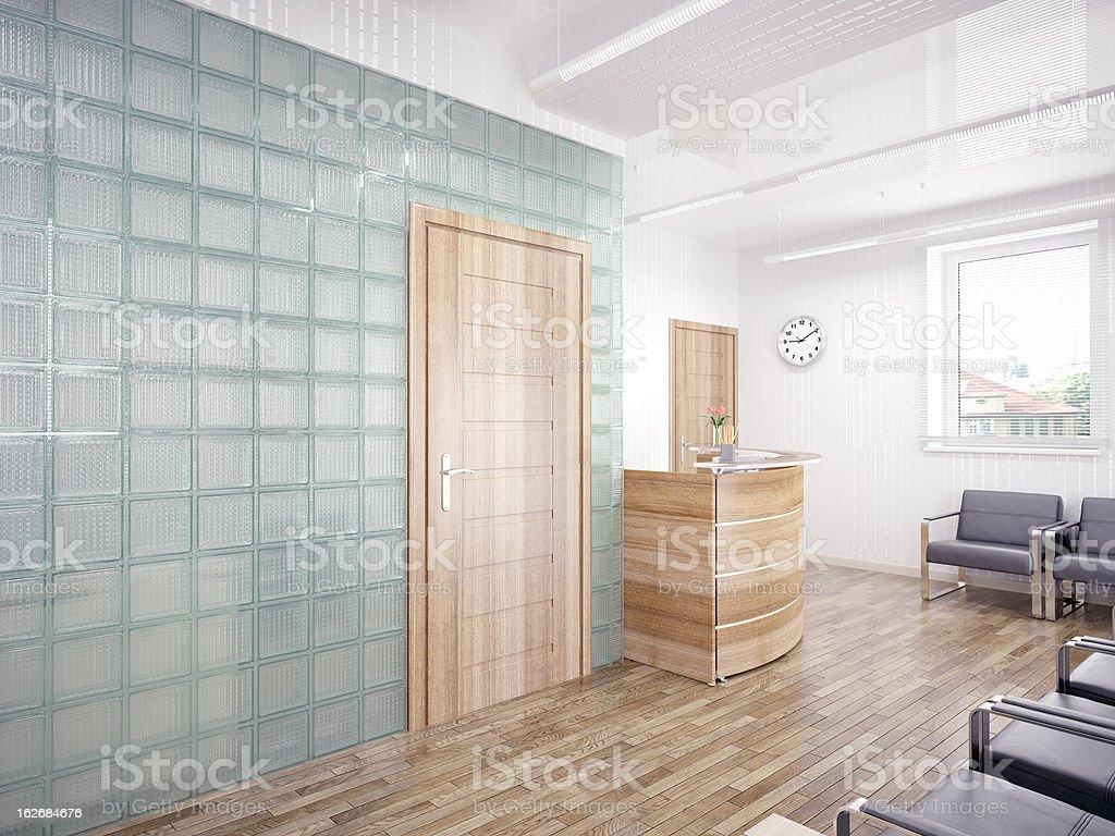 reception area royalty-free stock photo