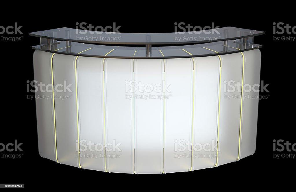reception counter design royalty-free stock photo