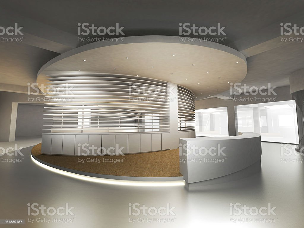Reception Counter royalty-free stock photo