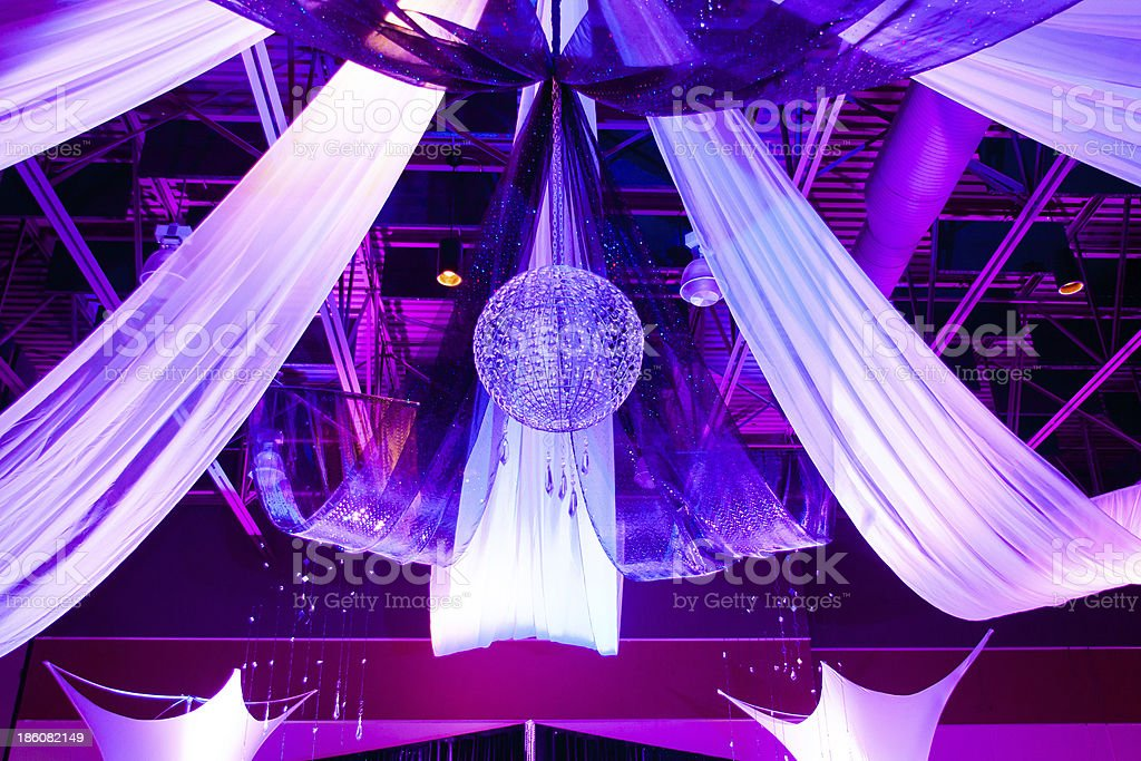 Reception Decorations stock photo