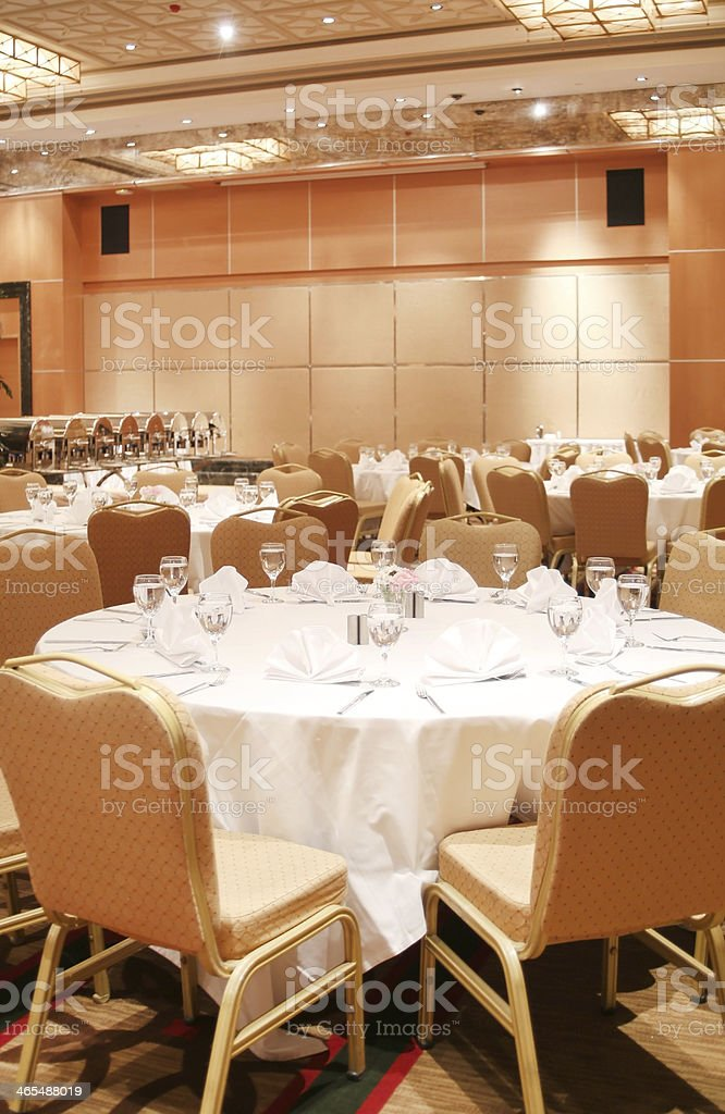 Reception Hall stock photo