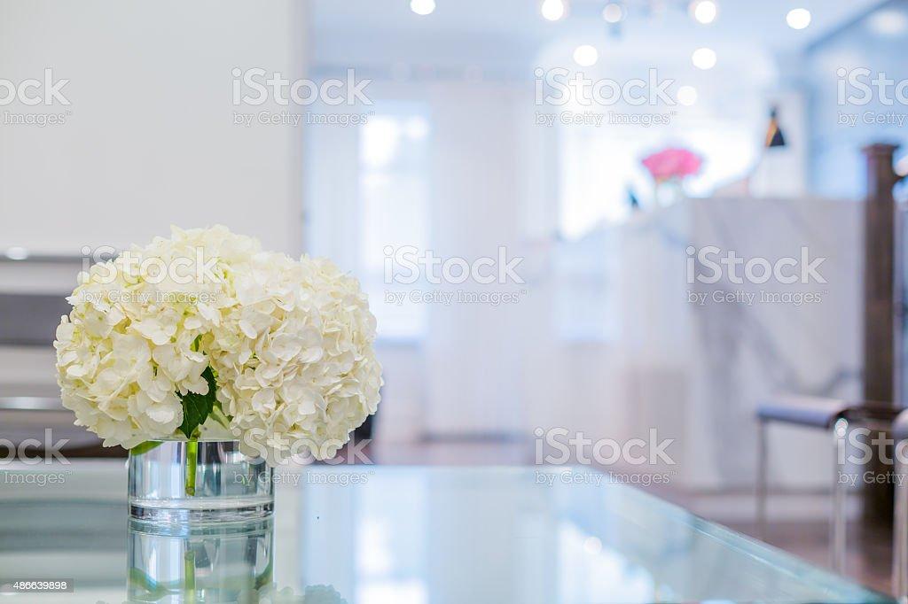 Reception Interior stock photo