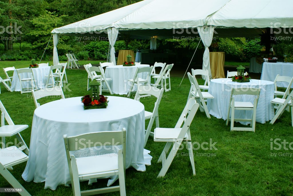 Reception Site royalty-free stock photo
