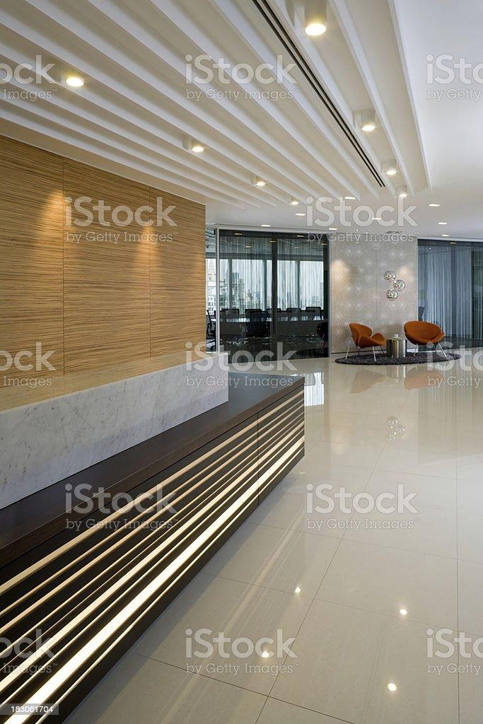 Reception & Waiting Area stock photo