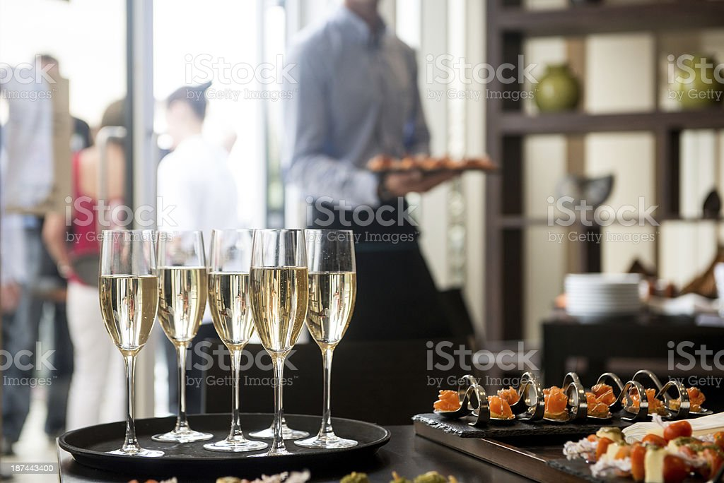 ReceptionDrinks stock photo