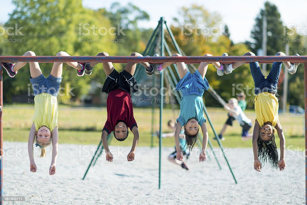 Recess stock photo