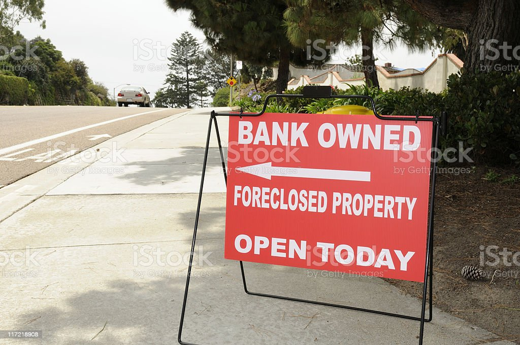 Recession? stock photo